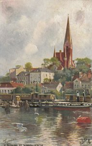FLENSBURG , Germany, 1912 ; St Jurgen Kirche ; TUCK 665 B