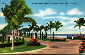 Florida Miami Beach Ocean Boulevard