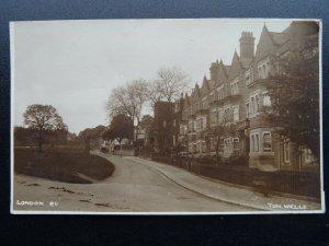 Kent TUNBRIDGE WELLS London Road c1912 RP Postcard
