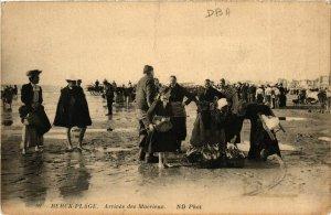 CPA Berck Plage- Arrivee des Macrieux FRANCE (908917)