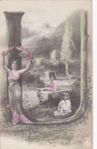 RP: Fantasy Alphabet Postcard , 1901-07 ; Letter  U  ; NPG