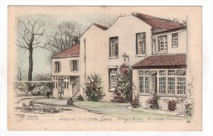TUCK; NEWTON, Massachusetts; General View from Lawn, May's Hotel, 00-10s