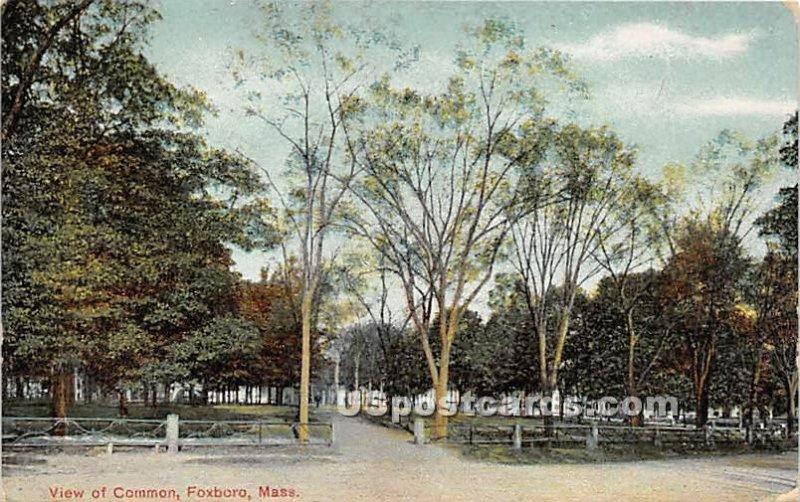 View of Common - Foxboro, MA