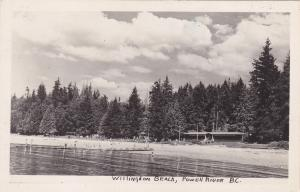 RP; POWELL RIVER, British Columbia, Canada; Willingdon Beach, 30-50s