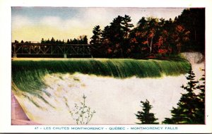 Canada Quebec Montmorency Falls