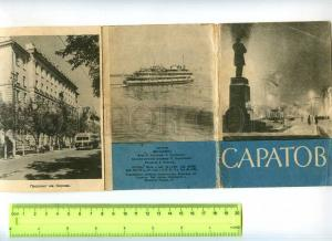 254043 Russia Saratov 14 Images booklet 1962 year