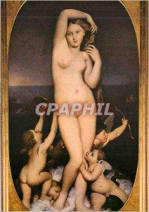 Modern Postcard Chantilly (Oise) Conde Musee Ingres Venus Anadyomene