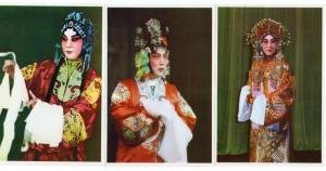 Peking China Zhang Junqiu Opera Singers Group of 6  Postcards J71889