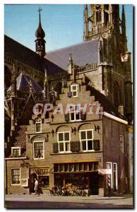 Nederland - Holland - Netherlands - Bred - Oued Gevels Grote Markt - Old Post...