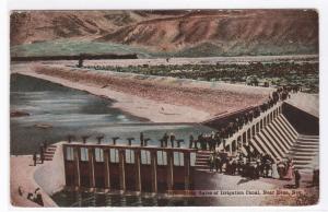 Head Gates Irrigation Canal Reno Nevada 1920 postcard