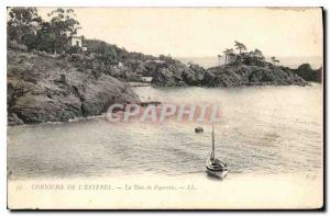 Postcard Old Corniche Esterel The Bay Figerette
