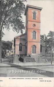 St Luke's Episcopal Church Chelsea MA Unused