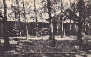 Lodge Junior Homemaker Camps Mountain Rest South Carolina Artvue