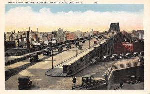 Cleveland OH J M & L A Osborn Tinning & Roofing Co Under High Level Bridge 1920s