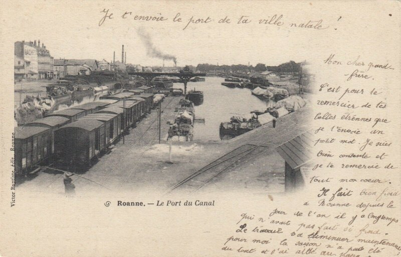 ROANNE , France, 00-10s; Le Port du Canal