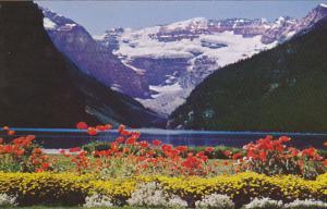 Lake Louise and Victoria Glacier Banff National Park Canada