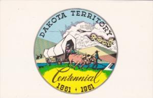 South Dakota Territory Centennial 1861-1961