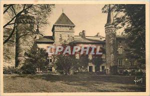 Old Postcard SAINT-POINT (S & L) -The Chateau Lamartine presilection to stay