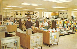 BYU Bookstore Provo, UT Brigham Young University c1960s Mormon Vintage Postcard