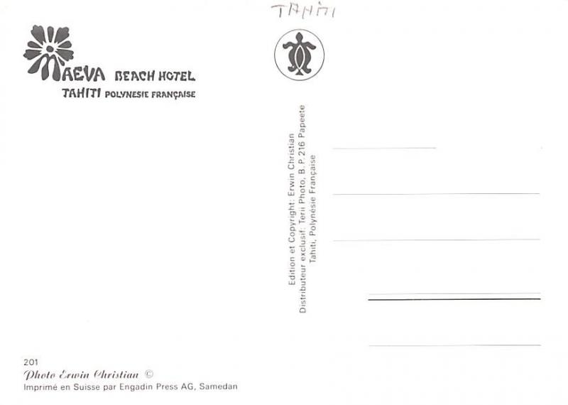 Tahiti Aeva Beach Hotel  Aeva Beach Hotel
