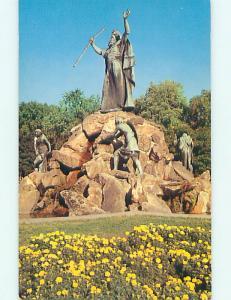 Unused Pre-1980 MONUMENT & PARK SCENE Albany New York NY r8667