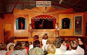 Florida Sarasota Circus hall Of Fame Performing Marionettes