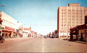 New Mexico Clovis main Street