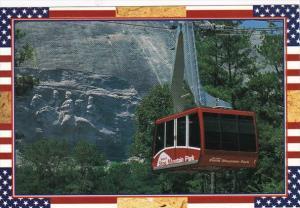Georgia Stone Mountain Park Memorial Carving & Cable Car
