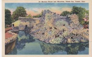 Ohio Toledo Monkey House and Mountain At Toledo Zoo Curteich