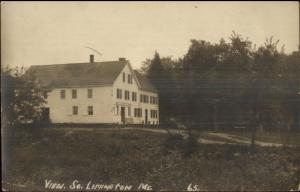 South Limington ME Store c1915 Real Photo Postcard