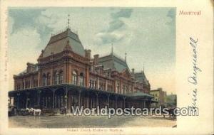 Montreal Canada, du Canada Grand Trunk Railway Station  Grand Trunk Railway S...