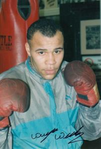 Wayne Weeks Boxer Vintage Autograph Hand Signed Photo