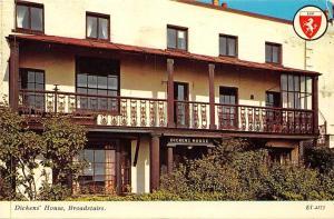 Dicken's House Balcony Broadstairs