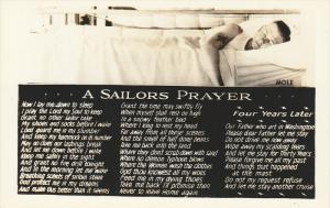 RP; A Sailors Prayer, Officer sleeping in cot, 10-20s