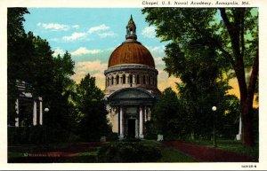 Maryland Annapolis Chapel U S Naval Academy 1933 Curteich
