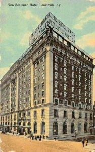 LOUISVILLE KENTUCKY~NEW SEELBACH HOTEL~1913 PSTMK POSTCARD