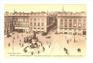 Royal Square & Carnot Street Before The War, Reims (Marne), France, 1900-1910s