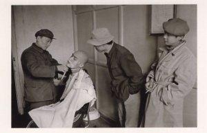 Chinese Barber Shave Peking Studios Movie Actor China Award Postcard