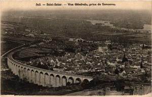 CPA St-Satur - Vue générale prise de Sancerre (456789)