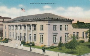 BLOOMINGTON , Illinois, 1930-40s , Post Office