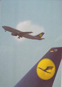 Lufthansa airplanes , 80-90s