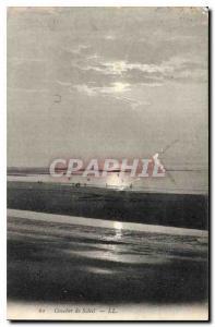 Old Postcard Sunset Saleit