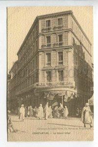 425831 ALGERIA CONSTANTINE Grand Hotel  Vintage postcard