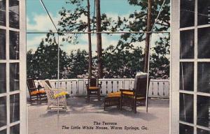 The Terrace The Little White House Warm Springs Georgia