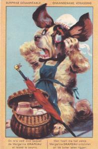 Surprise Desagreable [dog] , Margarine DRAPEAU , 00-10s