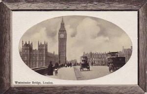 Westminster Bridge, London, England, UK, 1900-1910s