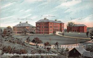 Edgarly School Normal School & Dormitory Fitchburg MA Unused