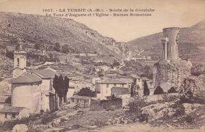 Route De La Corniche, La Tour d'Auguste Et l'Eglise, Ruines Romaines, La Turb...