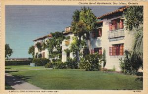 Cloister Hotel Apartments, SEA ISLAND, Georgia, 1930-1940s