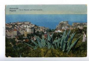 158116 Croatia DUBROVNIK Ragusa Torre Minceta & Fort Lorenzo